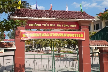 CADIVI SPONSORED TEACHING EQUIPMENT AND TOOLS FOR HA TONG MOC-HA TINH PRIMARY SCHOOL