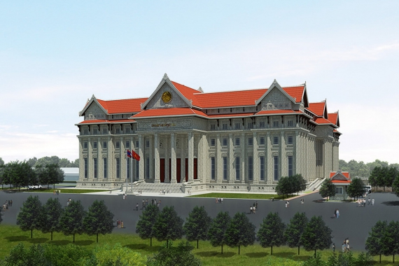 CADIVI CABLE IN SERVICE OF LAOS NATIONAL ASSEMBLY BUILDING