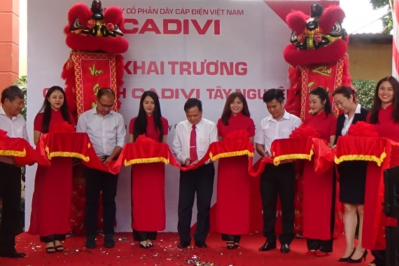 CADIVI OPENED TAY NGUYEN BRANCH AND HOSTED CUSTOMER CONFERENCE