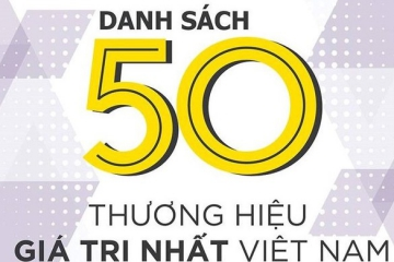 CADIVI was honored in the top 50 leading brands in Vietnam 2019 published by Forbes Vietnam