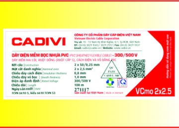 CADIVI adding QR codes on building wire labels