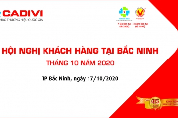 CADIVI COMPANY SUCCESSFULLY ORGANIZED BAC NINH CUSTOMER CONFERENCE OCTOBER 2020