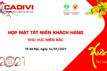 CADIVI COMPANY HAS SUCCESSFULLY ORGANIZED THE MEETING OF THE CUSTOMERS NORTHERN HAPPY SPRING 2021