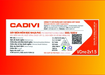 CADIVI changes the content in QR code on civil wire labels