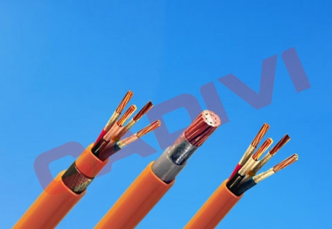 Flame retardant, fire resistant, low smoke free halogen (LSHF), low voltage power cable