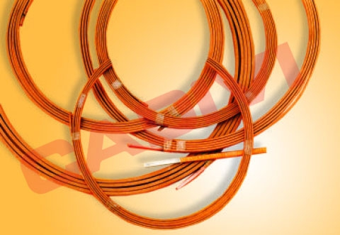 PAPER COVERED RECTANGULAR COPPER WIRES