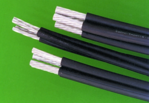 Low voltage area bundled cables (LV ABC)